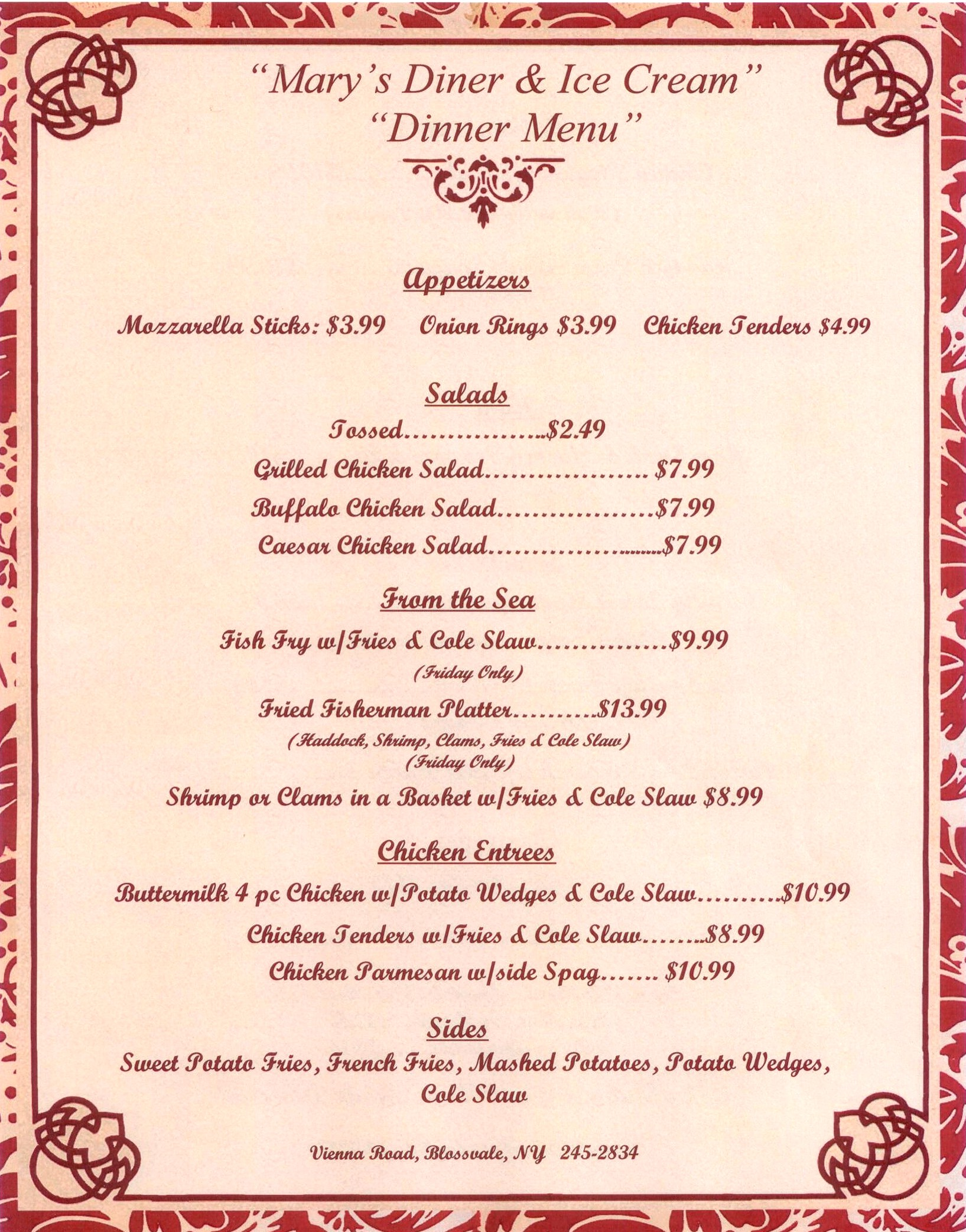 a dinner menu Enjoy cup cafe's delicious dinner menu, available everyday starting at 4pm.